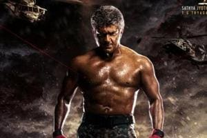 In Vivegam, Ajith plays an Interpol officer from India.