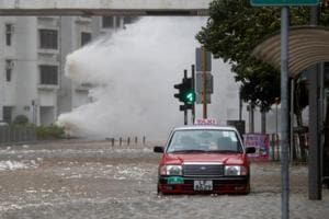 Severe Typhoon Hato wreaks havoc in Hong Kong, flights cancelled,...