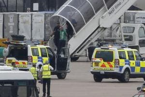 Man gets 18 years in UK prison for bomb in airport luggage