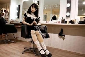 "Is she a doll or a human? Japan's ""living doll"" Lulu Hashimoto will..."