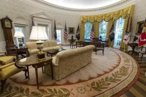 Here's how the renovated White House looks. PS - Donald Trump chose...