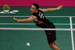 Lin Dan enters BWF World Badminton Championships Round 3 with late...