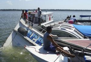 At least 10 dead as boat sinks in Brazil river, dozens missing