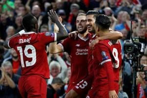 Champions League: Goals flow as Liverpool, Sporting Lisbon reach group...