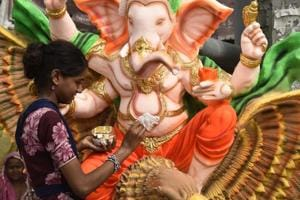 Photos: On Ganesh Chaturthi eve, Ganpati geared to grace homes