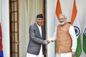 India, Nepal sign eight pacts