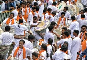 The PMC's decision to limit the music to only dhol-tasha pathaks and not allow speakers or DJs made a difference during Ganeshotsav.