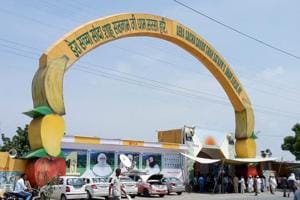 Tension prevailed in Sirsa after the court announced dera chief guilty and thousand of followers including women entered inside the Dera Sacha Sauda premises.