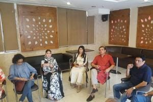 The meeting was attended by more than 50 people, including RWA members and residents of Essel Towers, Heritage City and Sahara Grace.