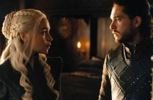 On Game of Thrones Dany's claim to the throne is in jeopardy as two people now know of Jon's true parentage with the big flashback to Lyanna and Rhaegar. Will the two be able to work a way out considering their love for each other?