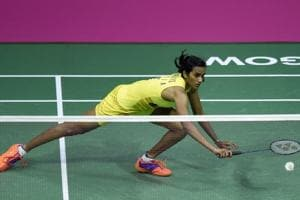 PVSindhu, leading at 19-17, had the third game and title in her grasp but could only pocket one of the next six points against Nozomi Okuhara during their women