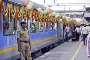 Gatimaan is supposed to cover a distance of 188 km between Delhi's Nizamuddin Railway Station and Agra Cantonment in 1.40 hours with no halts.