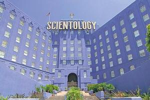 Scientology was started by LR Hubbard.