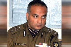 Inspector general Zahur Haidar Zaidi of the SITwho was arrested by the CBI on Tuesday. (HTphoto)