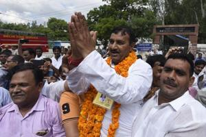 Ram Chander, AAP candidate, defeated BJP's Ved Parkash in the bypoll to the Bawana Assembly constituency, the result of which was announced on Monday.