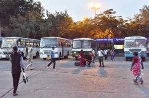 State buses resumed normal services on Tuesday.