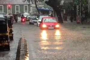 Ravindra Jadeja,  R. Madhavan, Neil Nitin Mukesh  and Abrar Zahoor are among the celebrities who took to social media to show  what the maximum city is going through due to the flood.