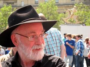 Terry Pratchett, best known for his colourful and satirical Discworld series, died in 2015 after a long battle with Alzheimer's disease.