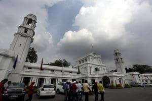 A Delhi assembly panel had received several complaints against the principal.