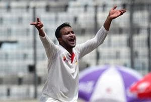 Shakib Al Hasan's 10/153 helped Bangladesh record their first Test victory over Australia with a 20-run win in the opening game of the two-match series at Sher-e-Bangla National Cricket Stadium.