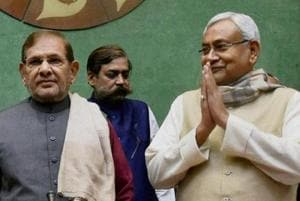 JD (U) leaders Sharad Yadav and Nitish Kumar are now firmly on a collision course.