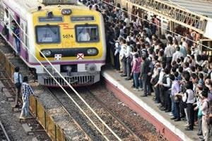 Angry about delayed trains, commuters block railway tracks at Vasind