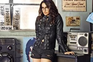 Styling by Shaleena Nathani; Make-up by Shraddha Naik; Hair by Florian Hurel; Shraddha wears glasses from Vogue Eyewear, shorts from Forever 21 and a jacket from The Source