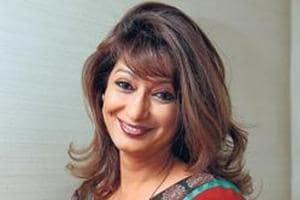 File photo of Sunanda Pushkar who was found dead in a room in Leela Hotel in New Delhi on January 17, 2014.