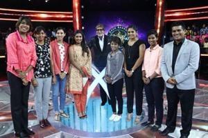 Mithali Raj's Indian women's cricket team were part of the popular TV quiz show 'Kaun Banega Crorepati' hosted by Bollywood superstar Amitabh Bachchan.