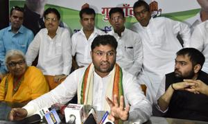 Ashok Tanwar, Haryana state Congress president, had announced that local party leaders want to fight the MCG elections on the party symbol.
