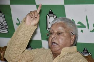 RJD chief Lalu Prasad says the JD (U) has no standing in the NDA and Nitish Kumar is staring at trouble.