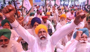 Punjab witnessed 11,876 protests – 32 a day – in 2016.