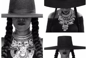 Meet Beyoncé's birthday squad. From Michelle Obama, Serena Williams to Tina Knowles and her daughter Blue Ivy, all came together in a special photoshoot for Beyoncé