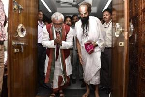 Ashwini Kumar Choubey took over as the minister of state for health in New Delhi on Monday.