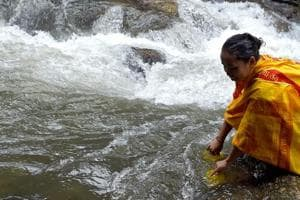 Villagers say they do not have any other option to access potable water.