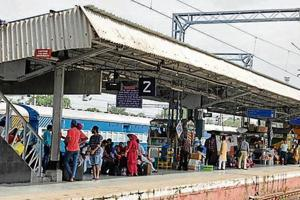 Cameras installed at 13 places on platform number 1 have not been operated yet.