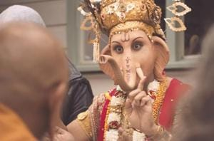 A recent ad campaign in Australia advertising lamp consumption features Hindu deity Lord Ganesha, has upset the Indian community in the country.