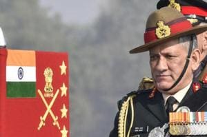 Army chief General Bipin Rawat's comments onWednesday are not the first time military leaders warned of a two-front threat to the country.