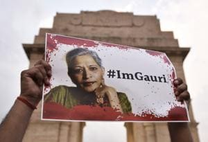 Gauri Lankesh, RIP: Decent people do not gloat when a journalist is gunned down for doing her job.