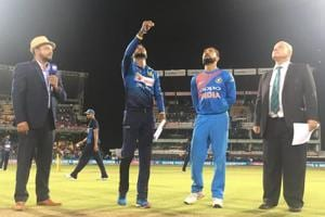 Virat Kohli slammed his 17th fifty as India defeated Sri Lanka by seven wickets to win the one-off T20I.