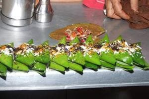 Banarasi paan is a mouth watering delicacy which visitors to the oldest living city relish.