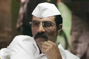 Arjun Rampal plays the lead role of Arun Gawli in Daddy.