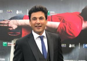 Chef Vikas Khanna on the red carpet of the 74th Venice International Film Festival