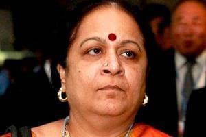 Former environment minister Jayanthi Natarajan.