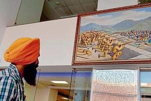 The gallery will have on display the paintings showing the Sikh warriors.