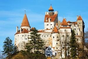Bram Stoker, who fashioned portions of his character Count Dracula on aspects of Vlad the Impaler, used Bran Castle (in picture) in Romania as his model for Dracula's castle.