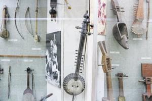 Almost all the 500 exhibits are handmade, showcasing instruments from across India.