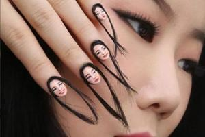 Selfie nail art is the latest trend on the block.