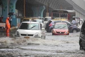 A flooded Hindmata area.