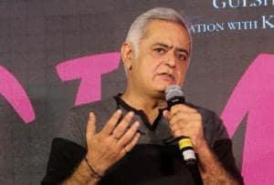 Film Director Hansal Mehta at the song launch of Simran.